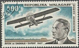 Malagasy Republic 1967 500f Airmail CTO