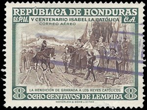 Honduras 1952 #C200 Used