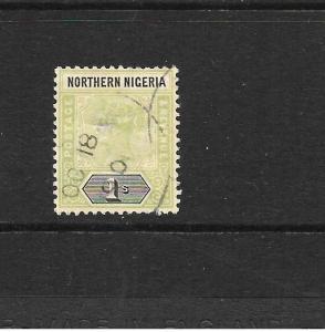 NORTHERN  NIGERIA  1900  1/-   QV    FU        SG 7