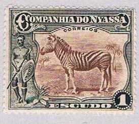 Nyassa 123 MLH Zebra 1921 (BP37913)