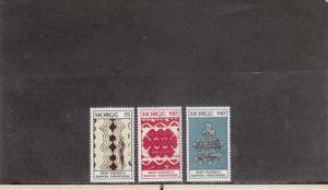 NORWAY 623-625 MNH 2019 SCOTT CATALOGUE VALUE $3.35