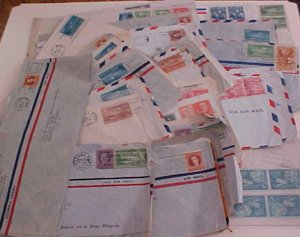 CUBA  47 COVERS  1940's  MOSTLY TO USA INCLUDES  2 REGISTERED