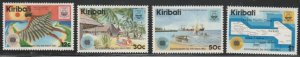 Kiribati #418-421 MNH Full Set of 4