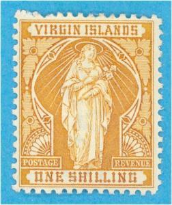 VIRGIN ISLANDS 27  MINT HINGED OG *  NO FAULTS VERY FINE !