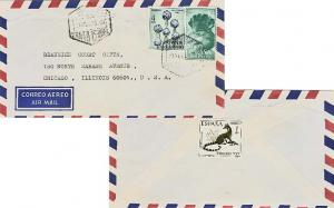 Fernando Poo 1P Stamp Day, 4P Child Welfare and 10P Great Blue Touraco 1968 C...