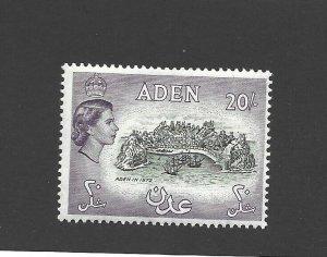 Aden Scott 61A 20-shilling Value Unused Hinged