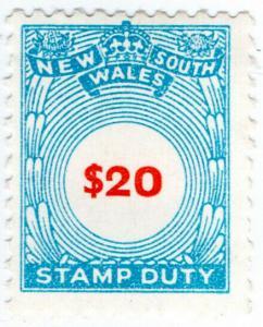 (I.B) Australia - NSW Revenue : Stamp Duty $20