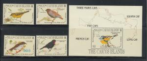 CAICOS ISLAND SCOTT #60-4 + S SHEET VF NH SCOTT $17.60 BIT NOW @  $4.25