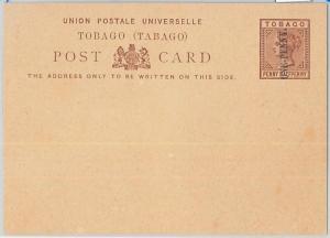 65897 -  TOBAGO - Postal History -  POSTAL STATIONERY CARD:  H & G # 4