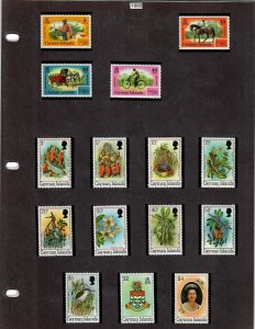 Cayman Islands 43 Stamps MH/MNH (SCV $43.70) Starting at 5%