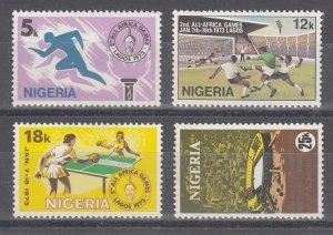 Nigeria Scott #287-290 MH