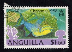 Anguilla Scott 771 Used.