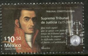 MEXICO 2478 Judicial Anniversaries - Jose Ma. Morelos. MNH
