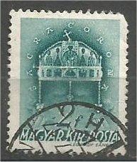 HUNGARY, 1939, used 2f, Giuseppe Garibaldi, Scott 538