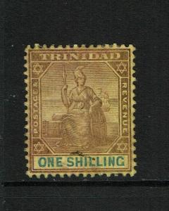 Trinidad SG# 142 Mint Hinged / Multi Light Hinge Rems - S6273