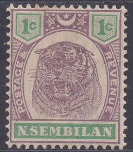 NEGRI SEMBILAN 1895 TIGER 1C