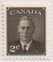 Canada Mint VF-NH #290 2c KGVI