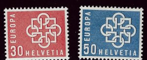Switzerland SC#374-375 Mint F-VF...A World of Stamps!