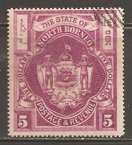 North Borneo  SC  72  Used