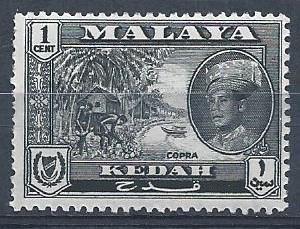Malaya - Kedah - SC#95 - MNH - SCV$0.25