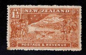 New Zealand Scott 109 MH* Boer War stamp WMK 61
