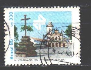 Brazil. 1985. 2133. Paraiba State Museum Monument. USED.