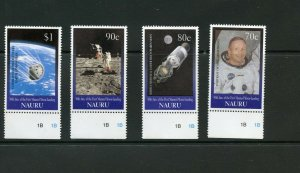 TUVALU  30th ANNIVERSARY OF THE FIRST MOON LANDING  SET  MINT NH