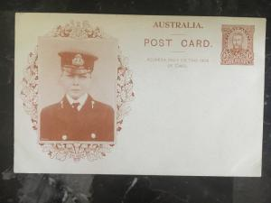 Mint Australia Postal Stationery Postcard Picture One cent