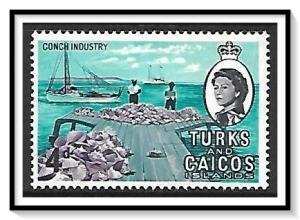 Turks & Caicos #162 Conch Industry MNH