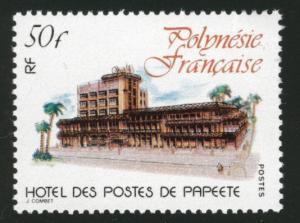 FRENCH POLYNESIA  Scott 333 Hotel Papeete stamp MNH**