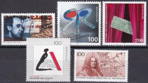 Germany #1929-33  MNH CV $7.80 (A19870)
