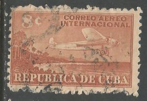 CUBA C40 VFU AIRPLANE Z4-135-2