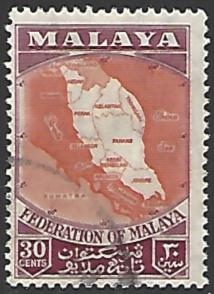 Malaya #83 Used Single Stamp