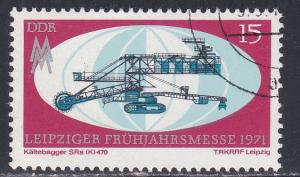 Germany - DDR # 1280, Leipzig Spring Fair - Dredge, Used CTO