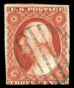 U.S. 1851-57 ISSUE 10  Used (ID # 84180)