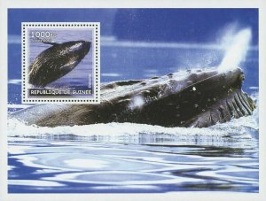 Guinea MNH S/S Ocean Whales