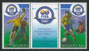 Moldova 2004 Football Centenary of FIFA 2 MNH stamps