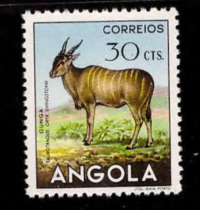 Angola  Scott 365 MH* stamp from 1953 animal set