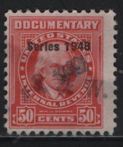 US, R496, USED, 1948 SERIES