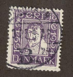 DENMARK SC# 169 F-VF U 1924