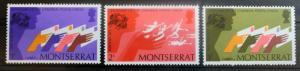 Montserrat Sc#306-308 Centenary of the UPU Mint