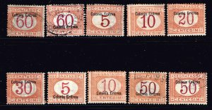 ITALY STAMP MINT AND USED STAMPS LOT
