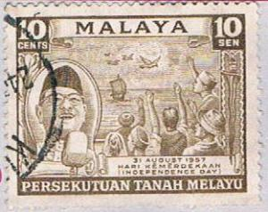 Malaya Federation 84 Used Tunku Rahman (BP22420)