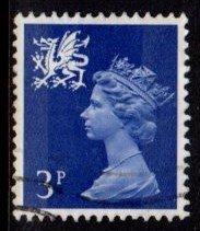 Wales - #WMMH2 Machin Queen Elizabeth II - Used