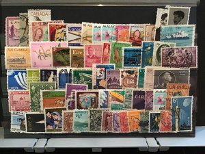 Mixed World  stamps R31529