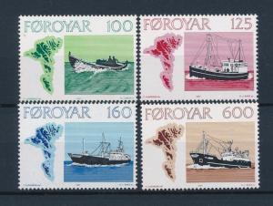 [47753] Faroe Islands 1977 Fishing boats MNH