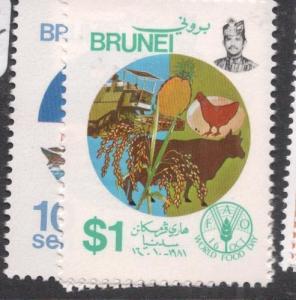 Brunei SG 307-8 MNH (4deo)