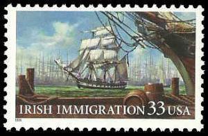 PCBstamps  US #3286 33c Irish Immigration, MNH, (13)