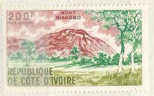 Ivory Coast =  Scott # C42 - MH