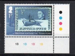 BRITISH ANTARCTIC TERRITORY - DEFINITIVE - 2013 - 1/2d -